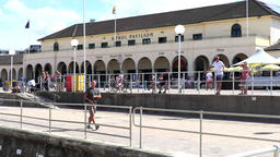 Bondi Beach Promenade and pavillion Footage