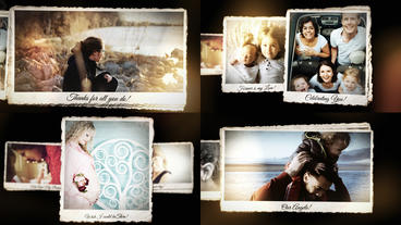 Creative Photo Slideshow Intro After Effects Template