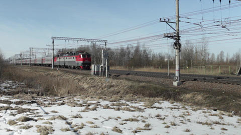 Locomotive whistle Long-distance trains Footage