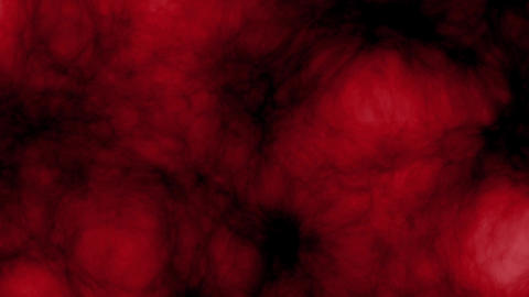 Dark red glowing ane expasion clouds - seamless loop Image