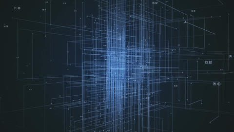 Abstract Network Background Filmmaterial