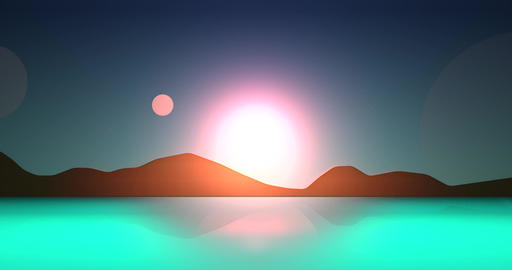 Flatland Backgrounds - Another Planet DAY Image
