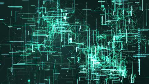 Digital Matrix Particles Grid