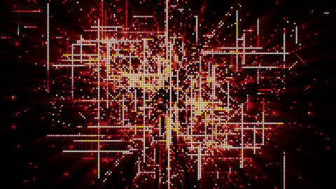 Digital Matrix Particles Grid