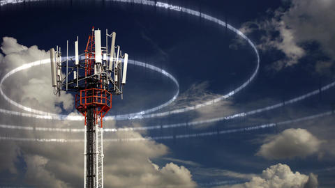 Mobile Telecommunication Tower Image