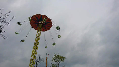 Chair Swing Ride Footage
