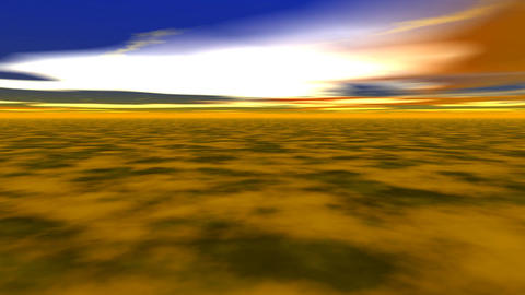 abstract landscape Animation