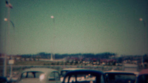 1959: Portland International Airport newly built transportation hub of the west  Footage