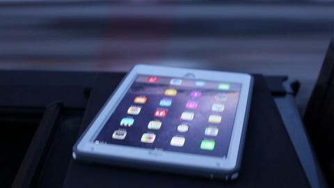 iPad Air 2 on Moving Truck Live Action