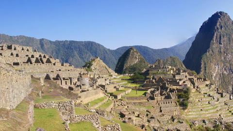 Machu Picchu,Peru Live Action