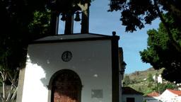 Spain Gran Canary Fataga 031 portal of little chapel Footage