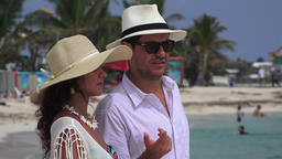 Unhappy Man And Wife On Vacation Live Action