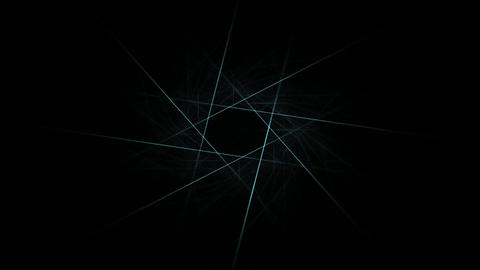 Abstract fractal patterns and shapes Animation