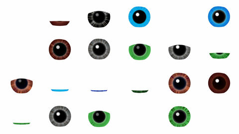 Many eyes sees many Animation