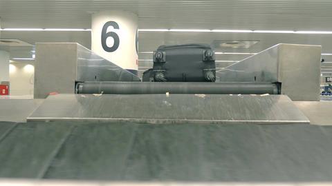 Video of baggage carousel in 4K Filmmaterial