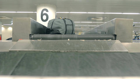 Video of baggage carousel in 4K Footage