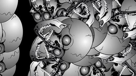 Multiplication of the skulls 画像