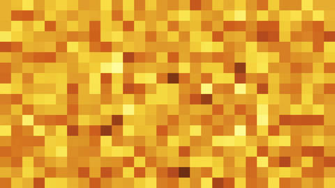 Abstract background with shiny mosaic. 3D rendering Animation
