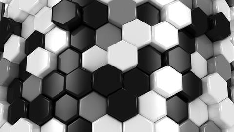 Animated Hexagons Animation