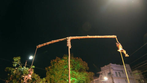 Charhak mela festival Bengal India Live Action