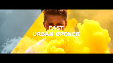 Fast Urban Opener After Effects Template