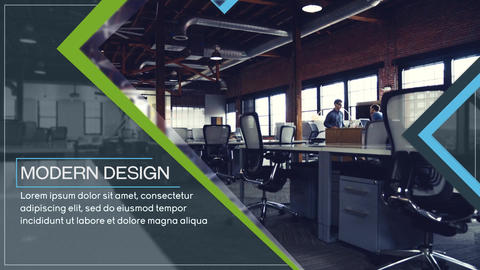 Clean Business Slides After Effects Template