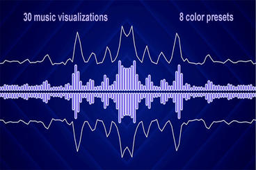 Music Visualizer - 004 After Effects Templates