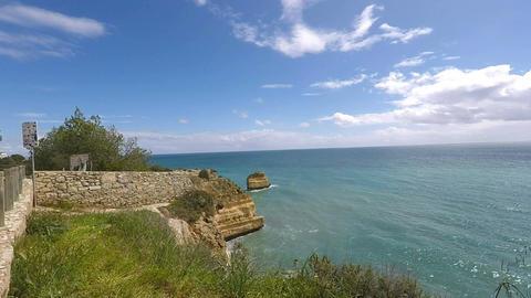 algarve coast of portugal Footage