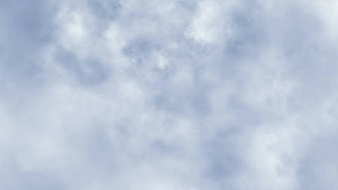 Animeted clouds with mild colours. Seamless loop Animation