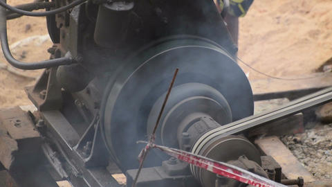 Pollution from diesel engine Filmmaterial
