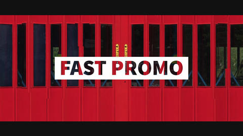 Fast Summer Promo After Effects Template