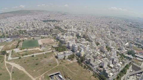 Aerial View of Drapetsona Area at Piraeus Footage