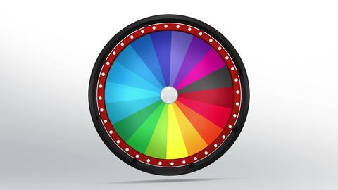 Black fortune wheel of 18 area 4K 画像