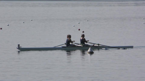 Rowing Championship Double Scull Woman Live Action