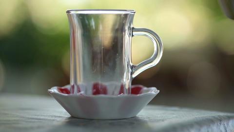 Traditional Turkish Tea and Teapot Filmmaterial