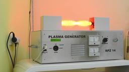 plasma generator - device (alternative medicine) Footage