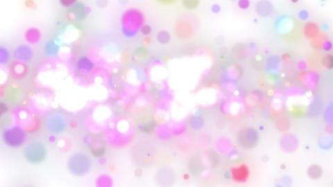 パーティクル白ライン状 Animation