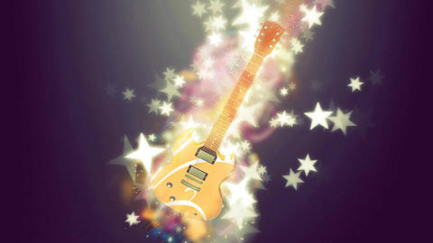 the guitar stars show Animation