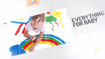 Clean Baby Room After Effects Templates