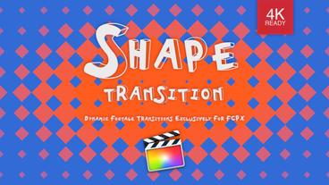 Shape Transition แม่แบบ Apple Motion