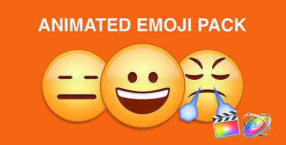 Emoji Plantilla de Apple Motion