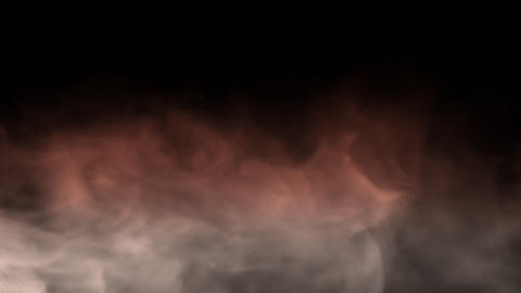 Smoke Background Loop with alpha - Soft Gradient Smoke Animation