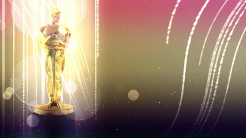 awards statue for stars Animation