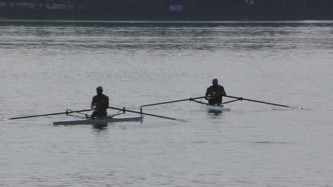 Rowing Championship Single Man Live Action
