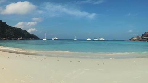 Similan Islands White sandy beaches Live Action