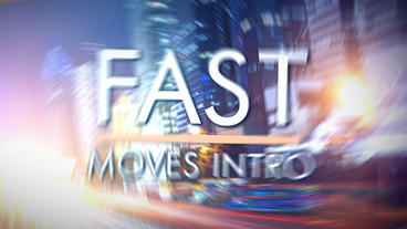 Fast Moves Intro - After Effects Template After Effects Template