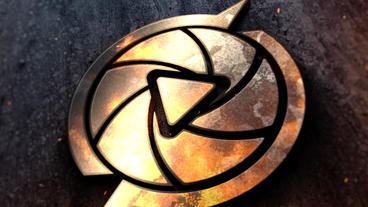 Metal Fire Logo Reveal After Effects Templates