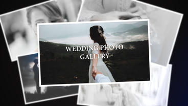 Wedding Photo Gallery After Effects Project