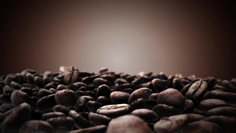 Brown coffee beans ビデオ