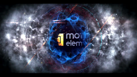 Energetic Epic logo After Effects Template